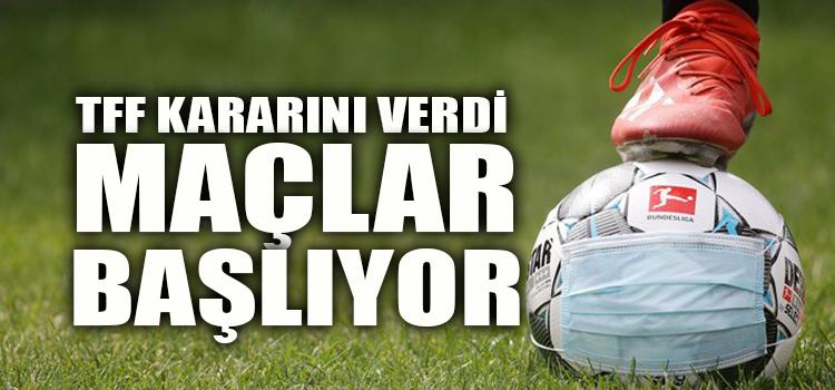 Son Dakika: TFF, Süper Lig Kararını Verdi