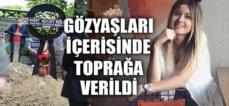 GENÇ ÖĞRETMEN SARAYKÖY'DE DEFNEDİLDİ