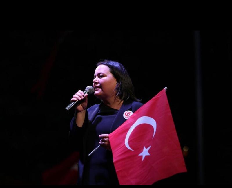 """""""15 Temmuz Günü, Tarihi Şan ve Şerefle Dolu Aziz Milletimizin Ülkesine ve Demokrasiye Sahip Çıktığı Gündür."""""""