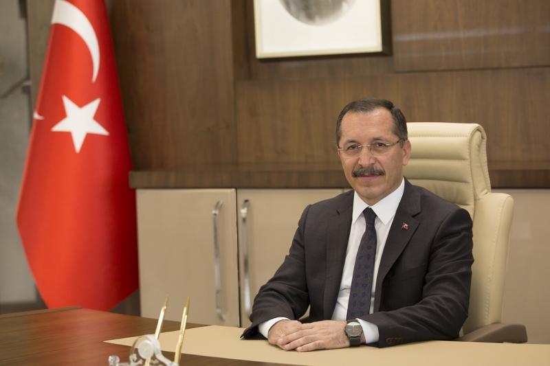 """Rektör Prof. Dr. Bağ'dan """"15 Temmuz Demokrasi ve Milli Birlik Günü"""" Mesajı"""