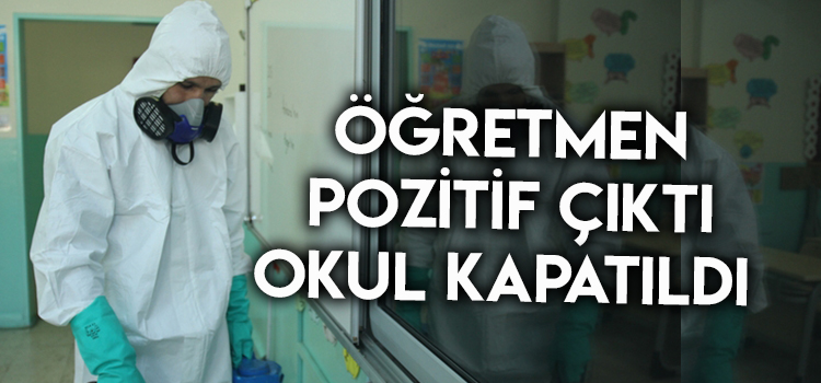 DENİZLİ'DE KORONA OKUL KAPATTIRDI