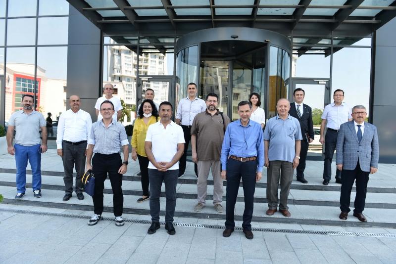 Denizli'de Teknik Tekstile Dönüşüm Projesi'nde Saha Çalışmaları Başladı MÜSİAD'I BİLGİLENDİRDİLER