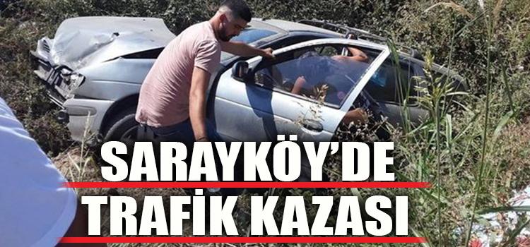 SARAYKÖY'DE AKIL ALMAZ KAZA