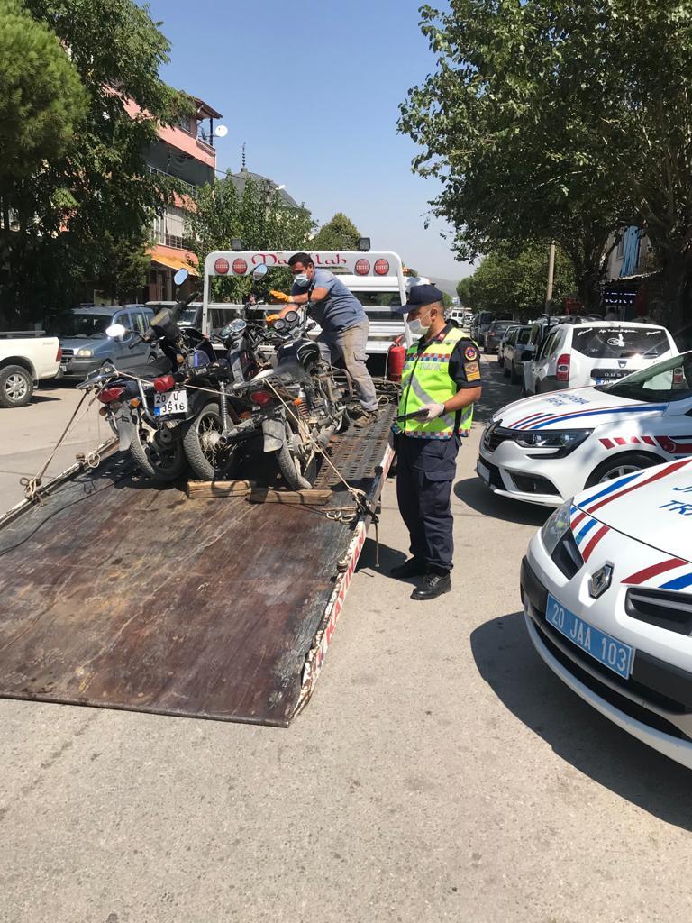 JANDARMA'DAN MOTOSİKLETLERE YÖNELİK ÖZEL DENETİM