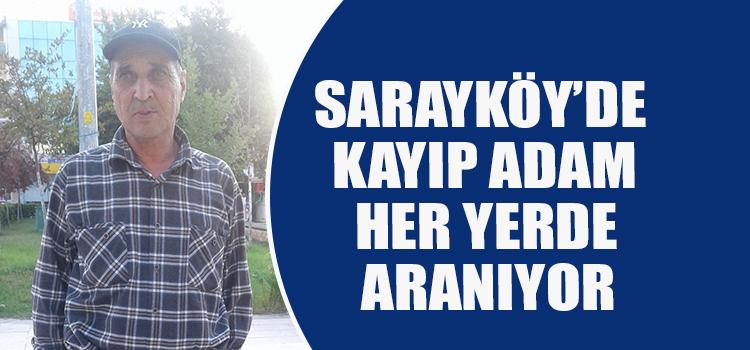 ALZHEİMER HASTASI KAYIP ADAM HER YERDE ARANIYOR