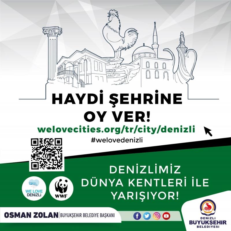 "Başkan Zolan: ""Haydi Denizli, şehrine oy ver!"""