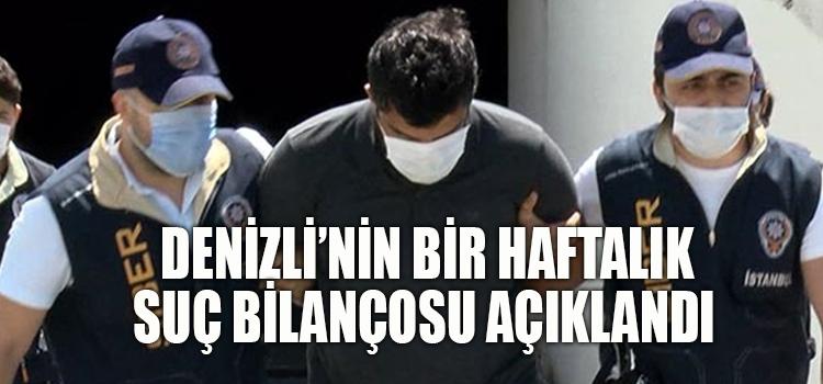 DENİZLİ'İN SUÇ DOSYASI YİNE KABARIK