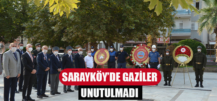 SARAYKÖY'DE GAZİLER GÜNÜ KUTLANDI