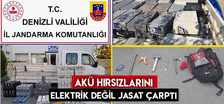 Baz İstasyonlarından Akü Çalan Şebeke JASAT'a Çarpıldı