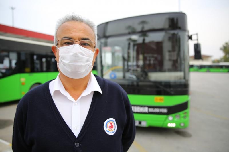 Büyükşehir otobüs şoföründen alkışlanacak davranış