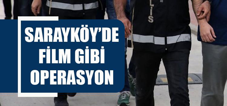 Denizli'den başlayıp Bursa ve Diyarbakır'a uzanan operasyon