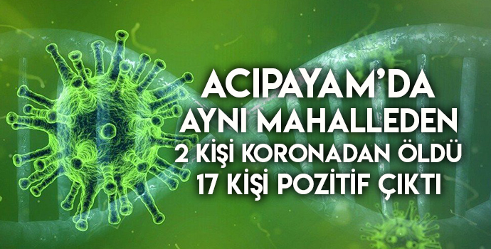 MAHALLE KARANTİNAYA ALINDI!