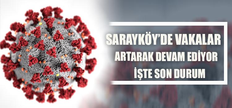 SARAYKÖY'DE TEHLİKE DEVAMEDİYOR