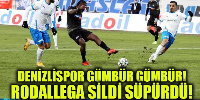 RODALLEGA'NIN HAFTASI! DENİZLİSPOR'DAN 4 GÜNDE 2. ZAFER.