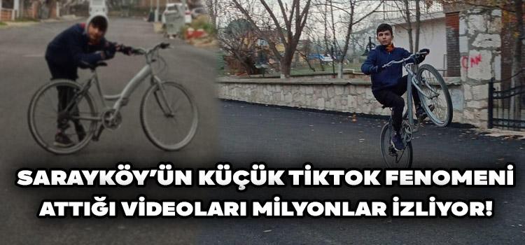 Sarayköy'ün Küçük Tiktok Fenomeni!