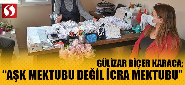 """""""AŞK MEKTUBU DEĞİL İCRA MEKTUBU"""""""