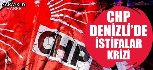 CHP Denizli'de İstifalar Krizi!