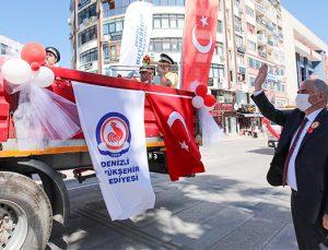 Denizli, 19 Mayıs coşkusunu Büyükşehir ile yaşadı!