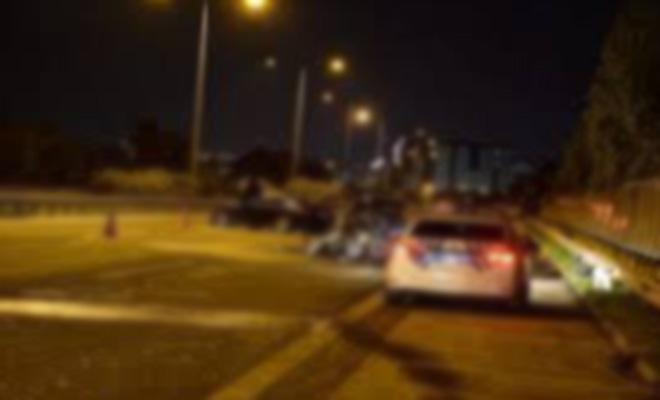 Denizli'de feci kaza! Kamyonet sürücüsü 85 metre takla atarak durabildi!