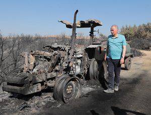 Başkan Zolan'dan traktörü yanan çiftçiye yeni traktör müjdesi!