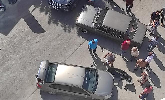 Sarayköy'de kaza! Yaralı kadın hastaneye götürüldü!