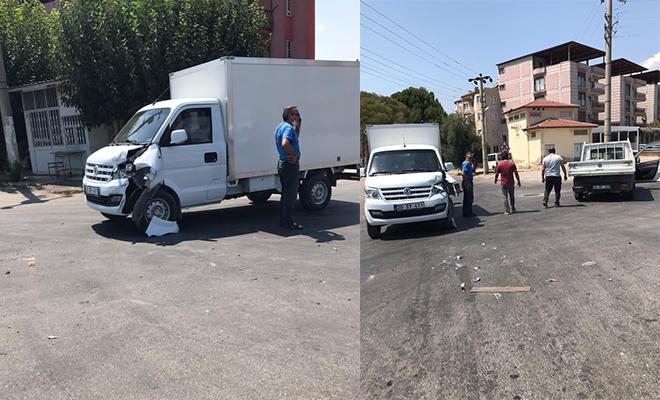 Sarayköy'de bir anlık dikkatsizlik kaza ile sonuçlandı!