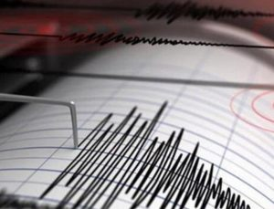 Denizli gece saatlerinde depremle sallandı!