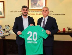 Denizlispor'dan Başkan Zolan'a ziyaret!
