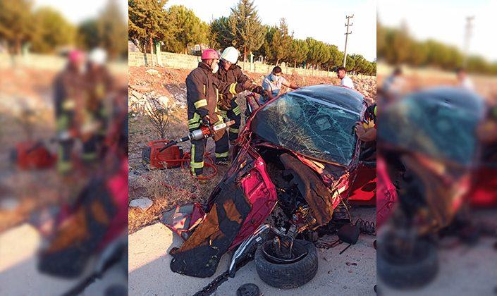 Denizli' de kaza: 2 yaralı