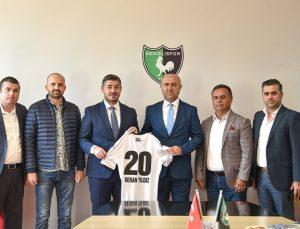 Altaş Denizlispor Kulübüne süpriz ziyaret!